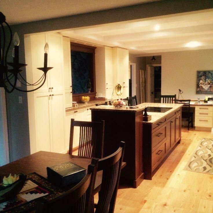Port Elgin Transitional Kitchen Renovation by Van Dolder's Kitchen & Bath