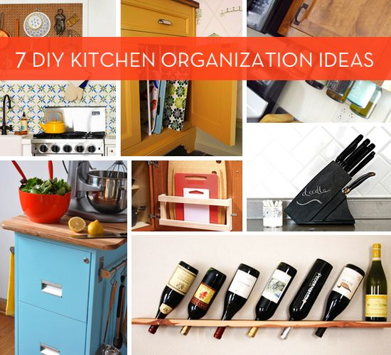 Kitchen Cabinet Organization Ideas: 157 Best Images About DIY/Kitchen Organization On
