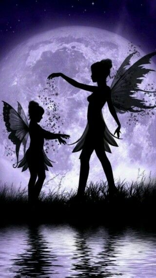 :) love this, it is like mother daughter art... Fairy form. Awesome