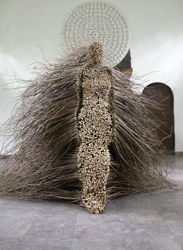 figure of woman made from willow branches olga ziemska 2 The Woman Made from Willow Branches