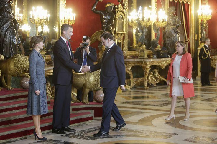En Palacio Real, ha comenzado la recepción - Las imágenes del día de la Fiesta Nacional