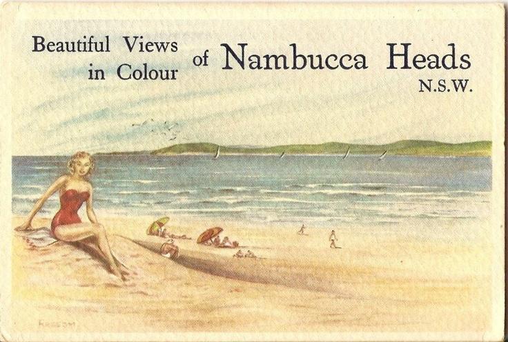 A vintage postcard from Nambucca Heads, Australia.