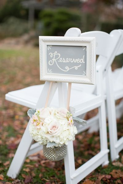 Romantic Fall Wedding by Abby Grace and Atrendy Wedding - Southern Weddings Magazine