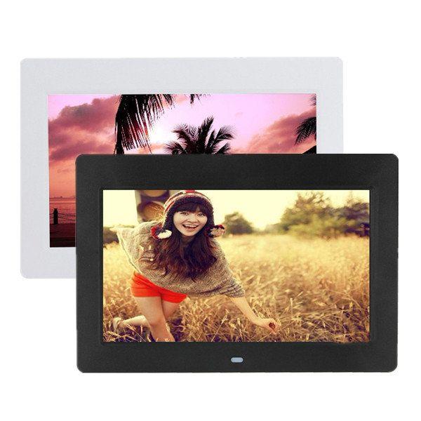 10 Inch HD TFT-LCD Digital Photo Movies Frame MP4 Player Alarm Clock - US$58.28  #audio  #video #camera  #photo #electronics