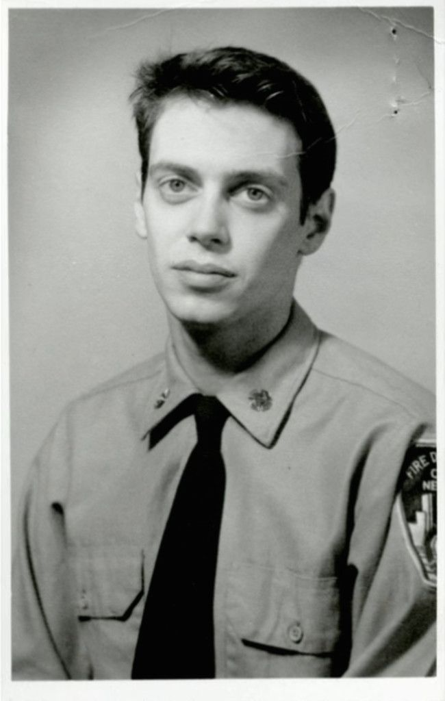 Steve Buscemi during his time as an NYC firefighter - 1976