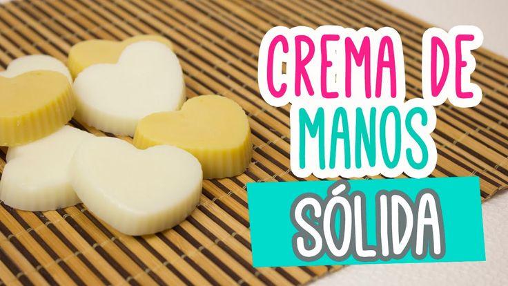 Crema para Manos Casera Sólida!! 3 Recetas ♥ Crema Humectante | Catwalk