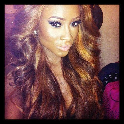 Excellent 1000 Images About Black Girls Blonde Hair On Pinterest Her Short Hairstyles For Black Women Fulllsitofus