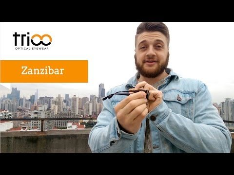 Vintage Style Zanzibar from Archipelago Collection TriooEyewear - our YouTube Channel . http://www.trioo.us/men/archipelago/zanzibar-bourbon-tortoise.html #glasses #men #vintage