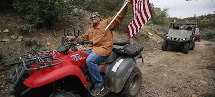 """Sagebrush Rebellion redux (""""Activists"""" - more like thugs - seeking to directly challenge federal control of swathes of territory in the U.S.)"""