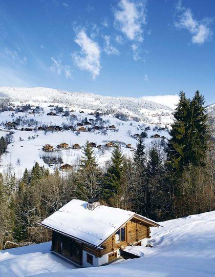 Perdu au cœur de la montagne avec une bonne #racletteàski