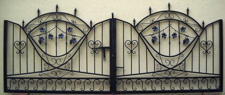 Cancello Carrabile in Ferro Battuto Iron Gate Tore Portail en fer Forgé Puerta