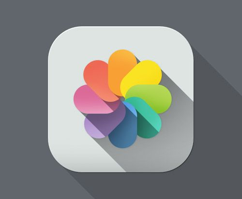 Flat Designs and Long Shadows Design / Flat icons / #flatdesign #longshadow
