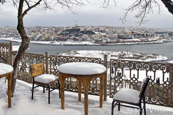 Cafe' Pier Loti, Golden Horn, Istanbul