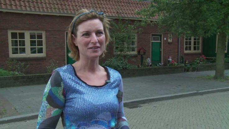 De woningen aan de Spreeuwenstraat in Hilversum zijn blikvangers van de wijk Liebergen, met opvallende hoekhuizen met schuin dak die haaks op de woonblokken staan. Boven de dakgoot zijn kapellen en lange raamstroken geplaatst die de eenheid van het complex benadrukken.