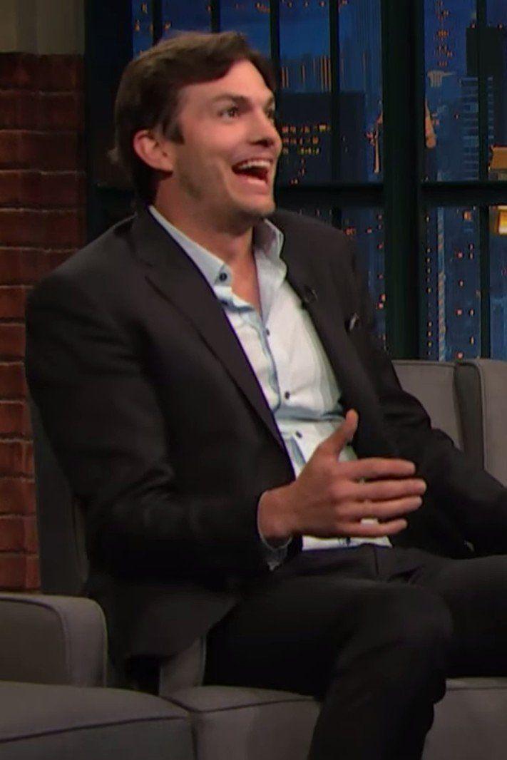 "Ashton Kutcher Admits Daughter Wyatt Loves Saying ""F*ck"""