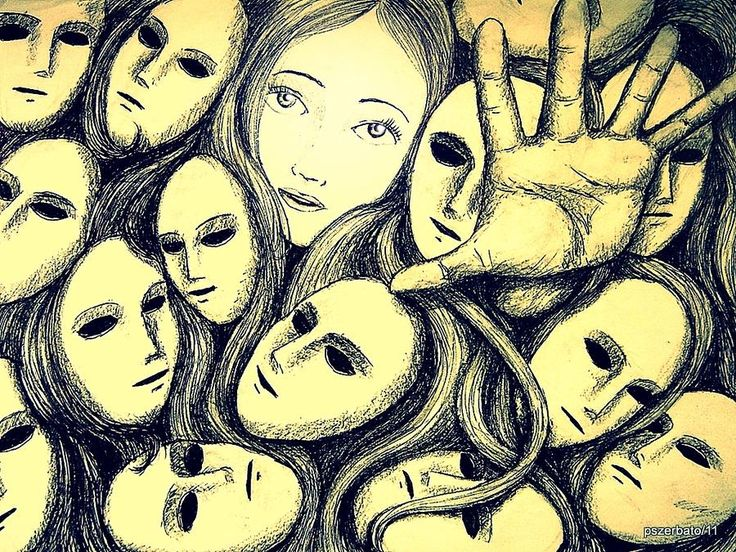 best multiple personality disorder images horror  multiple personalities artwork