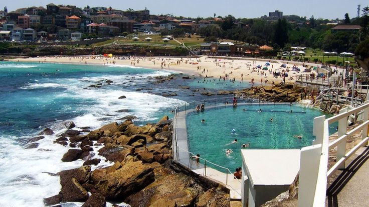 bronte beach swimming pool australia tourism pinterest swimming beaches and sydney