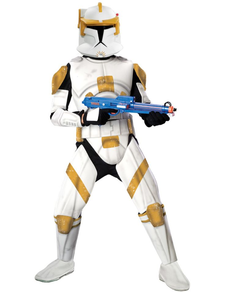 Commander Cody Costume Clone Trooper (Deluxe)