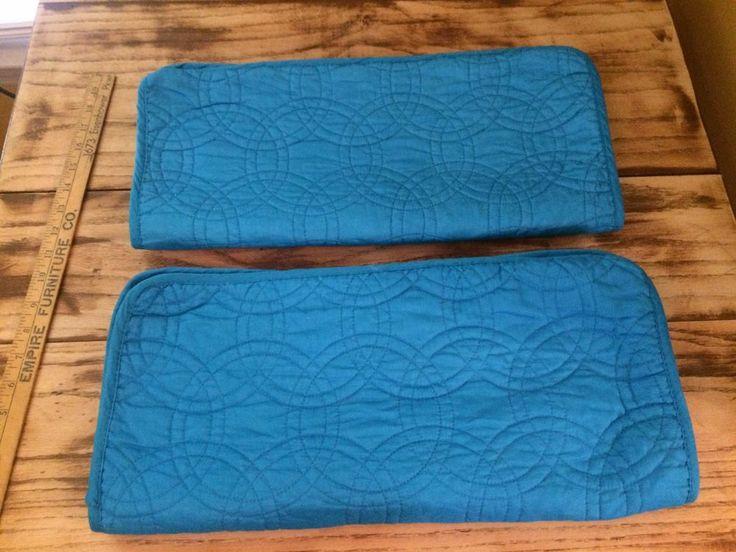 Pillowcase Shams King Blue by Design International Quilted Set #DesignInternational #Cottage