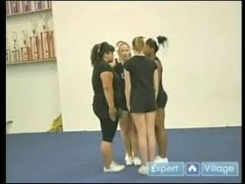 Advanced Cheerleading; Tips & Techniques : How to Do an Individual Stunt...