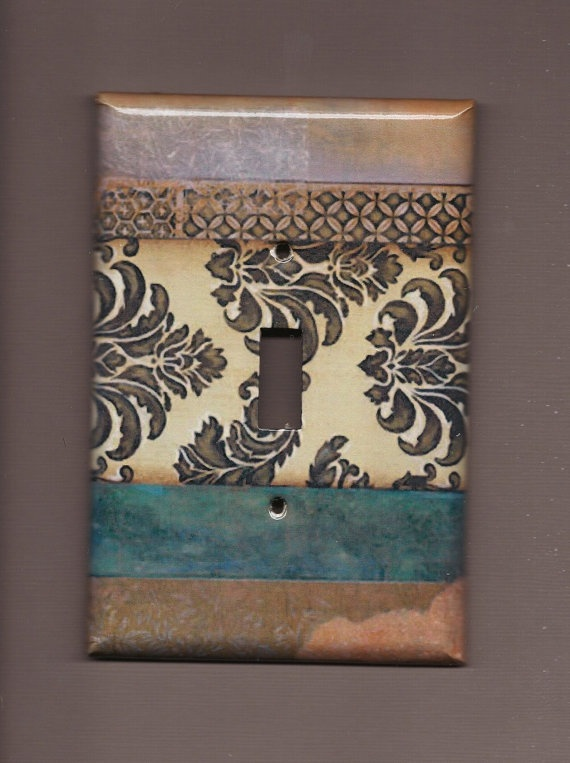 Boho: Switch Plates, Vintage Blue, Lights Switch Covers, Switchplat Covers, Blue Lights, Lightswitch Covers, Blue Switchplat, Cool Ideas, Vintage Switchplat
