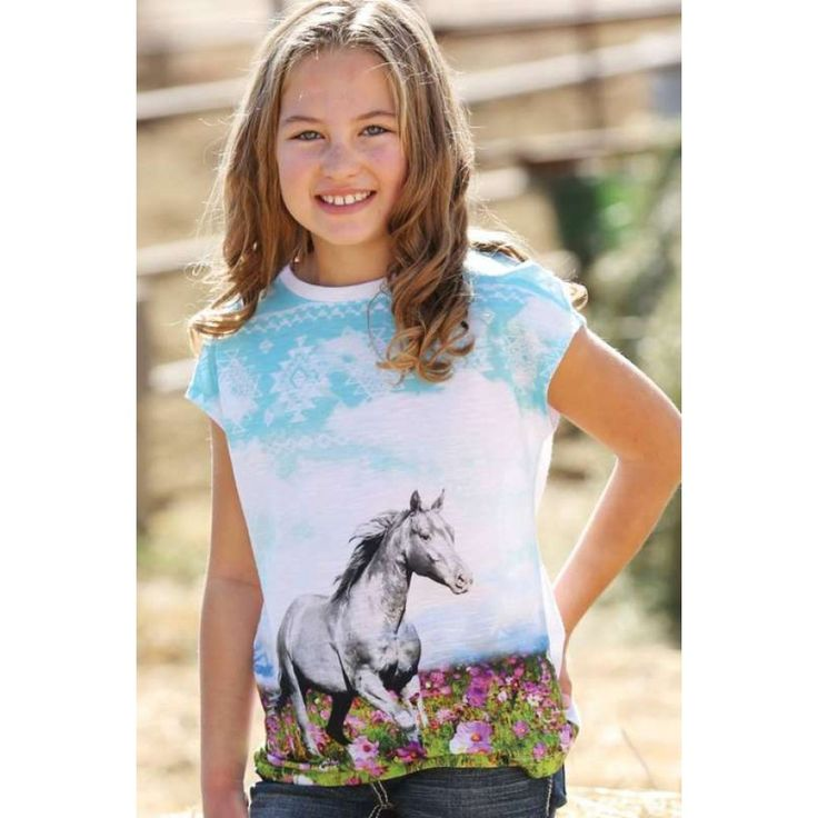 CRUEL GIRL GIRLS IRMA TSHIRT   Any little cowgirl that has a love for horses needs this shirt in her wardrobe!  $49.95