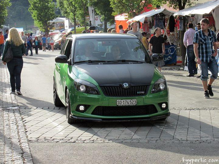 Skoda Fabia RS Wörthersee 2014