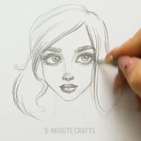 How to Draw a Face ✍️