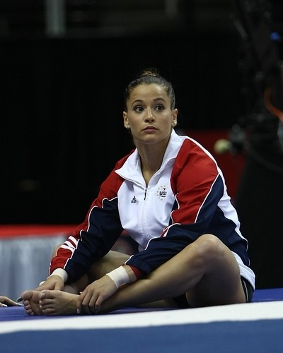Alicia Sacramone Trials 2012 Day 2. Credit: Heather Maynez