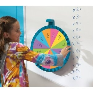 Educational Insights Jumbo Magnetic Spinner, MultiColor (1769)