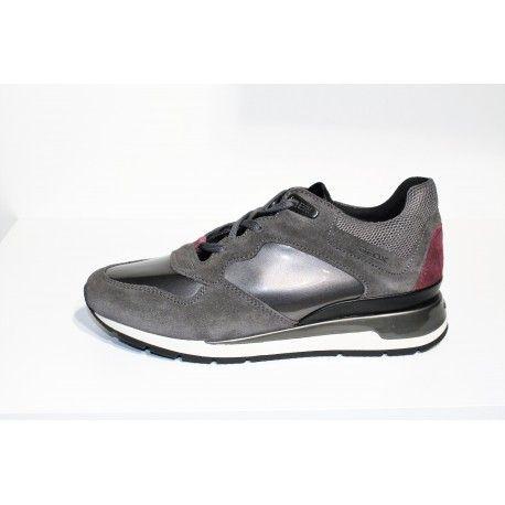 chaussure geox femme rouge,Geox D62H5C 000LT Mocassins
