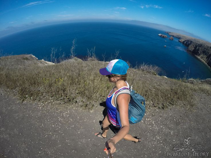 Hiking on Santa Cruz Island in Channel Islands National Park. Follow the pictures for more things to do on these islands off the Santa Barbara coast.
