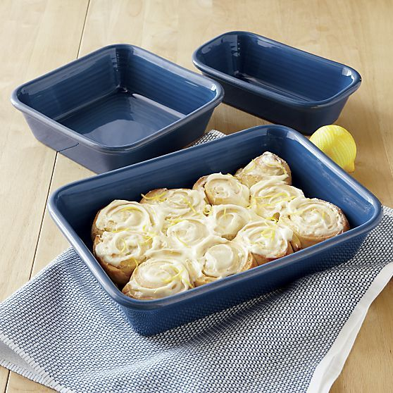 Farmhouse Blue Baking Dishes | Crate and Barrel