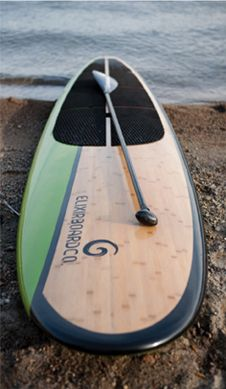 bamboo sup: going paddling boarding today for my b'day!