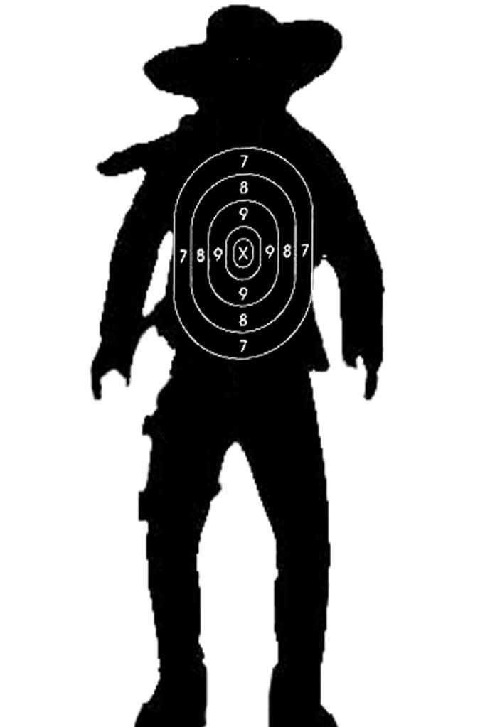shooting targets cowboy targets