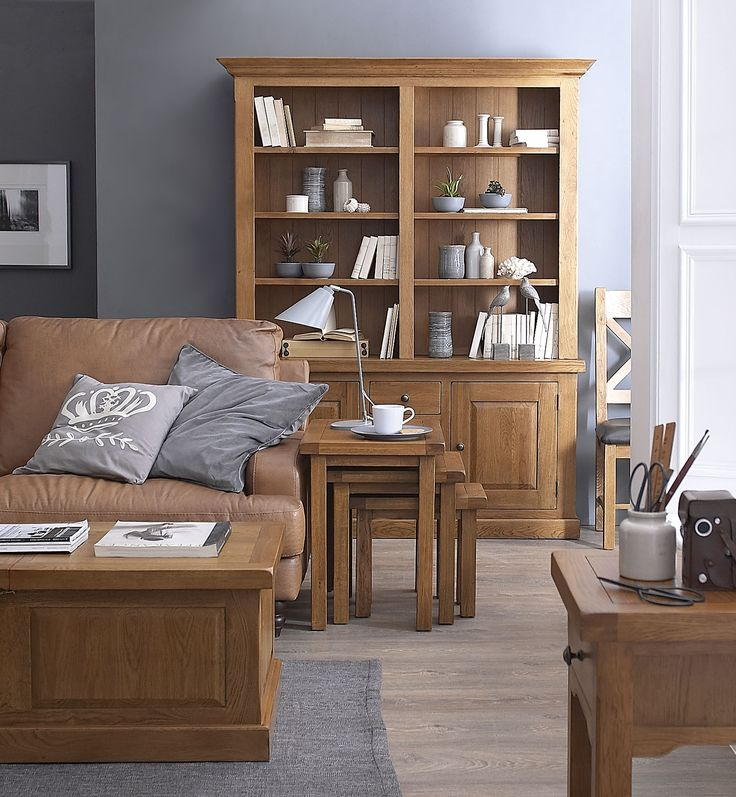 Introducing our truly exceptional Warwick Oak Collection, a delightful range that simply oozes class. Made from solid oak with real oak veneers, this stunning collection is larger than most and some of its key features include seriously chunky oak tops and stylish soft-close drawers. A living and dining room collection, a sturdy, durable look and feel is complimented by a natural oak stain and a matt lacquer that protects against daily use whilst enhancing the natural characteristics of the…