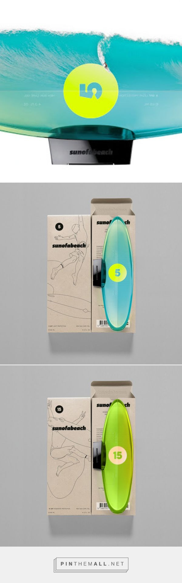 SUNOFABEACH - Men Sun Care (Concept) on Packaging of the World - Creative Package Design Gallery... - a grouped images picture - Pin Them All