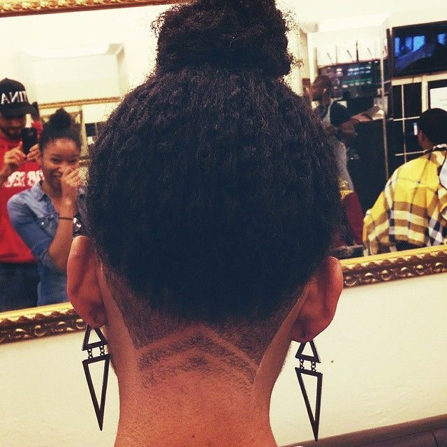 Undercut Designs With Braids