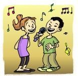 Karaoke à l'école : Pour la classe ou pour son plaisir personnel, 2000 chansons en Karaoke (musiques MIDI avec paroles apparaissant à l'écran) disponibles ici : http://rustrel.free.fr/pedago/Karaoke.rar Brassens, Nougaro, Goldman, the Beatles... et aussi des chansons pour la maternelle. Le plus dur est de choisir !