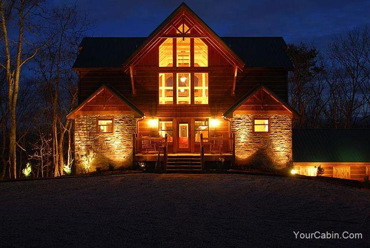 Cajun castle gatlinburg pool tn nc cabins pinterest for Gatlinburg tn luxury cabins