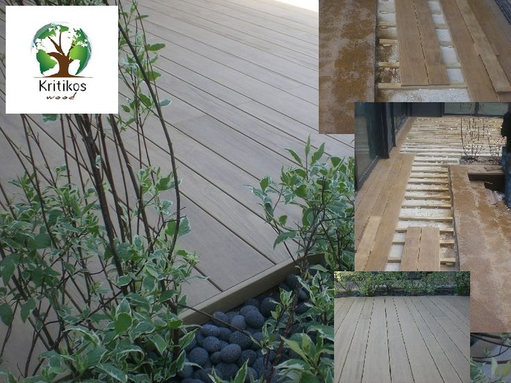 outdoor deck made by Accoya Wood