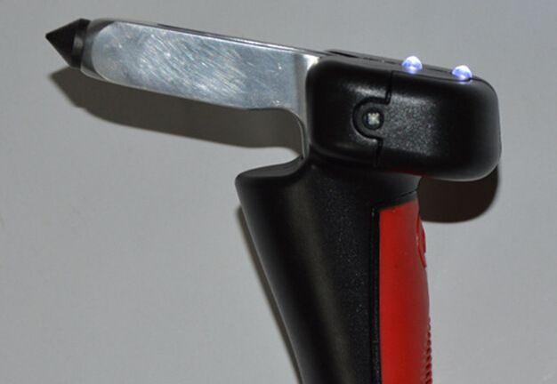 Taşınabilir araç kapı Destek kolu Yrd Kapmak Bar Araç Kaçış Aracı acil çekiç Kırıcı ışık ve Kemer Kesici