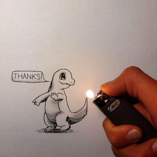 Doodle Art - Des illustrations avec des objets du quotidien