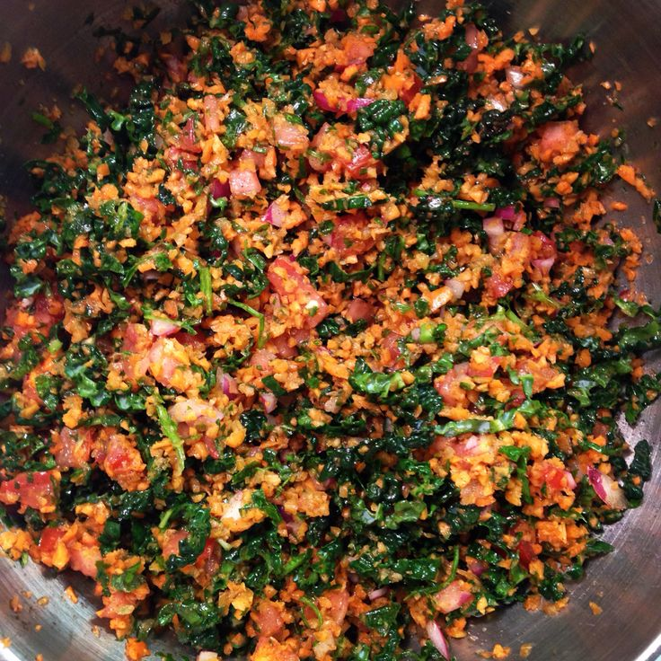 Carrot Tabbouleh from Smashing Plates. http://www.thisismariaelia.com/index.html
