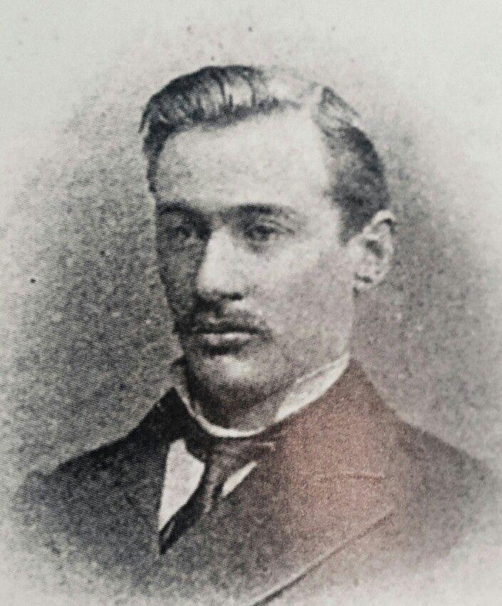 Pres.M.T.Steyn in 1877 in Nederlandas regs-student.