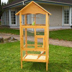Puinen lintuhäkki, 139,95€. Puukehyksinen lintuhäkki vaikka ulkokäyttöön. Ilmainen toimitus! #lintuhäkki