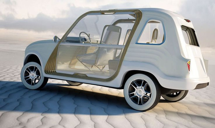 How cute is this Renault 4?  The perfect ride for taking you from your beach house to afternoon cocktails.