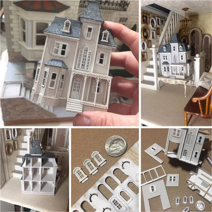 I made a dollhouse for my dollhouse!  This was a wonderful little kit!  Fairly easy, pieces fit perfectly!  So much fun!!    	(The Beacon Hill 1/144...