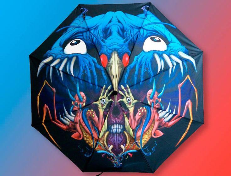 Paraguas llenos de Arte