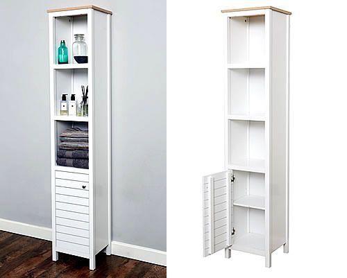 Slimline tallboy bathroom storage unit. 1000  ideas about Bathroom Storage Units on Pinterest